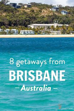 Are you visiting Brisbane on your trip to Australia? Here are 8 getaways from Brisbane once you're done with the city! Visit Australia, Queensland Australia, Australia Travel, Western Australia, Melbourne Australia, Australia Visa, Australia 2017, Coast Australia, Places To Travel