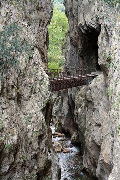 Diakofto Kalavrita , rack + pinion railway