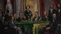 150 years ago in Charlottetown, PEI the first conference to discuss creating our wonderful country took place. 23 determined men met and developed a plan to create a new nation which would later be known as Canada. #tbt #CanadaBday