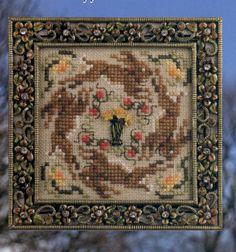 Daffodil Run - cross stitch pattern by Just Nan. $3.50, via Etsy.