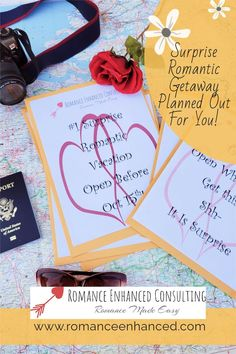 Do you ever dream about having a perfect romantic getaway with your spouse, but you do not have the time to plan it. Let a Romance Coach help you by planning and booking your romantic getaway for you. So all you have to do is worry about enjoying the time together! #romanticgetaway #romantichelp #romanticgift #romanticweekend #romanticvacay #romanticplans #romantichelp #romantictips #relationshipgoals #couplegoals Romantic Weekend Getaways, Romantic Getaway, Couple Goals, Relationship Goals, Make It Simple, Romance, Vacation, How To Plan, Romance Film