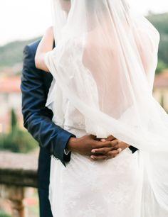 Gorgeous veil: http://www.stylemepretty.com/destination-weddings/2014/12/23/elegantly-festive-tuscan-wedding-inspiration/