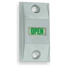 Exit Indicator by Adams RITE. $62.72. Exit Indicator, Zinc Alloy, Satin Aluminum Finish, For Use With MS1850 Series Deadbolts