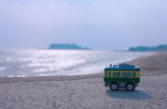 #sex, #blur, #shining, #horizon, #toy, #beach, #quiet, #close-up, #summer, #sea, #sun, #water