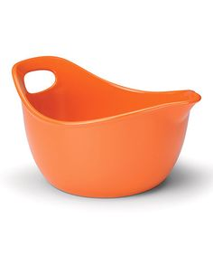 Take a look at this Orange Mixing Bowl by Rachael Ray on #zulily today!