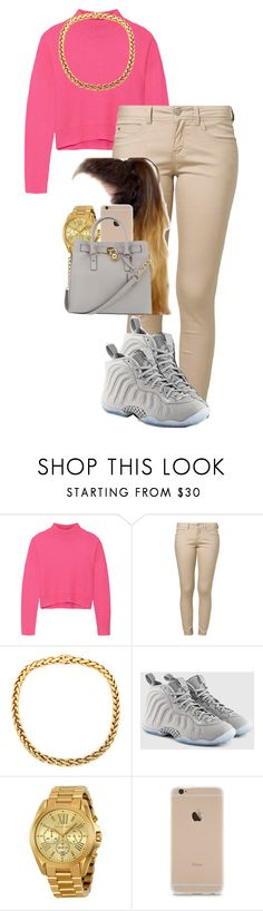 """""""Untitled #386"""" by keyorab ❤ liked on Polyvore featuring moda, Line, ONLY, NIKE e Michael Kors"""