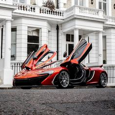 McLaren P1 shoot in West London - https://www.luxury.guugles.com/mclaren-p1-shoot-in-west-london/