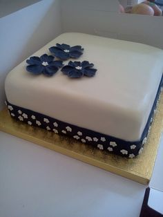 Single Tier Wedding Cake By Bymichaela