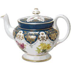 Vanderbilt Teapot - Biltmore - 40oz http://www.englishteastore.com/teapot-vanderbilt-biltmore-40oz.html