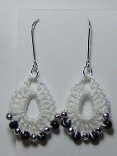 Beaded Crochet Earrings | Craftsy