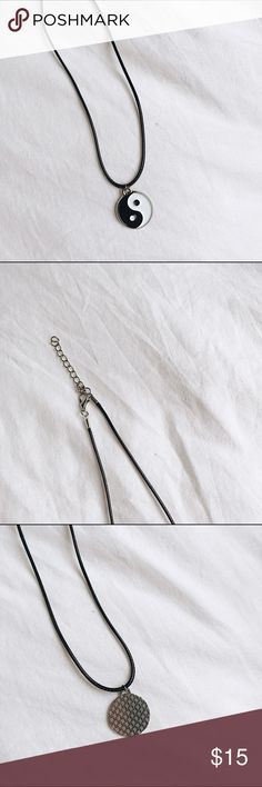 Ying Yang necklace brand new, short necklace but not a choker :/ $10 + FREE SHIP ON MERC Brandy Melville Jewelry Necklaces
