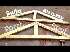 How To Cut a Roof Rafter - YouTube