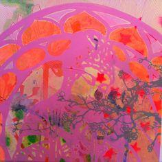 """forgiveness"" 50 cm x 50 cm  by Charlotte Clausen"