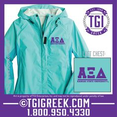 TGI Greek//Alpha Xi Delta//New Member Jackets// tgigreek@tgipromo.com// #tgigreek #alphaxidelta #newmemberjackets #sororityjackets