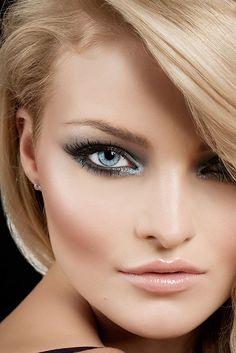glamorous bridal makeup | Make-up Looks schminken: Verführerische Katzenaugen
