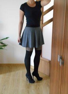 Kup mój przedmiot na #vintedpl http://www.vinted.pl/damska-odziez/spodnice/18773520-rozkloszowana-czarno-biala-spodniczka-wzory-na-gumce-sinsay-zamek-stan-jak-nowy-m