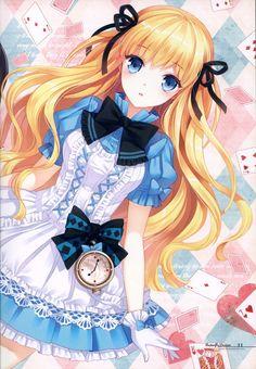 Alice in anime  version