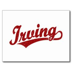 $$$ This is great for          	Irving script logo in red distressed postcards           	Irving script logo in red distressed postcards today price drop and special promotion. Get The best buyDeals          	Irving script logo in red distressed postcards Review on the This website by click th...Cleck Hot Deals >>> http://www.zazzle.com/irving_script_logo_in_red_distressed_postcards-239932722954356489?rf=238627982471231924&zbar=1&tc=terrest