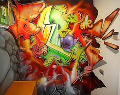 Graffiti I want this in my room