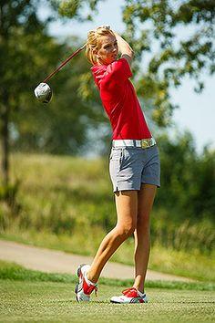 . at women's golf tourney - Women's golf - Athletics - Central College