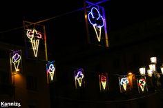 Luci d'artista a Torino: Gelati Natalizi. Kannizz © 2013