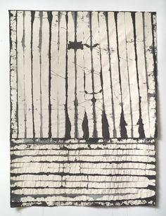 "caroline_burton(re)vision1_65""hx48""w#canvas#pigment#acrylic#thread Textiles, Abstract, Architecture, Canvas, Artwork, Summary, Arquitetura, Tela, Work Of Art"