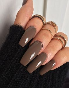 80 Elegant Nude Coffin Nails Design For Long Nails That Anyone Can Pull Off Aycrlic Nails, Cute Nails, Pretty Nails, Hair And Nails, Glitter Nails, Fall Acrylic Nails, Acrylic Nail Designs, Coffin Nails Long, Long Nails