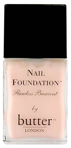 Foundation for your nails.  Use as a basecoat or wear alone for nude nails.