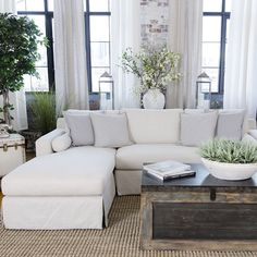 Haley Left Facing Sectional - Shabby Rustic//