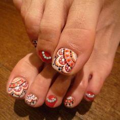 diseños de uñas para pies juveniles - Buscar con Google