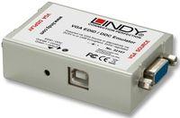 VGA und Audio Signale mit CAT5/6 Kabel verteilen