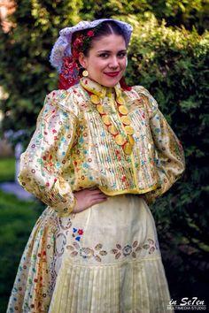 Traditional costume of region Slavonia, Croatia