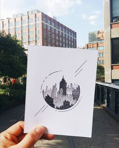 "504 Likes, 14 Comments - Luisa Aparicio (@luisapa9) on Instagram: ""NYC drawing ft. The High Line. . . . . . . . . . #art #artwork #sketch #quicksketch #drawing…"""