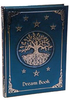 """A stunning, hardcover journal with blank pages. Lovely artwork glosses the cover with a Tree of Life surrounded by pentacles. Contains 160 unlined pages. 5"""" x 7"""""""