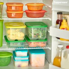 You normally keep 4 types of food in your refrigerator, which we throw away…