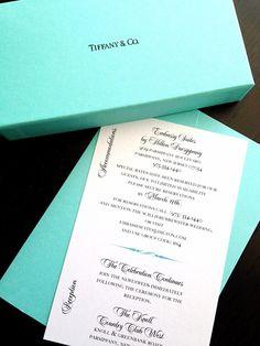 1e49cdb8c46 24+ Elegant Picture of Tiffany Blue Wedding Invitations