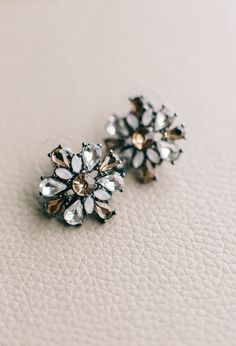 earrings from Historic Tredegar Richmond Wedding. #trendybride