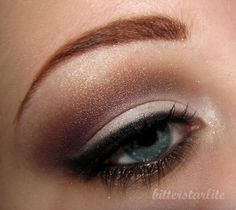 soft purple eye makeup