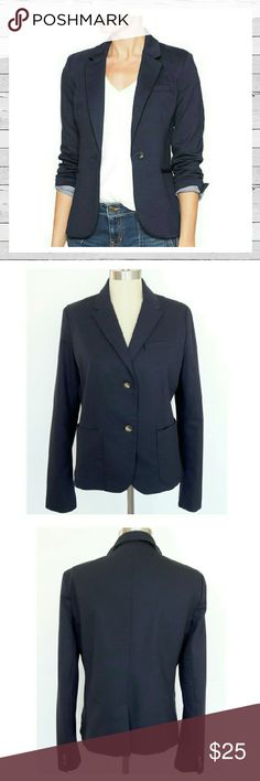 "GAP ""The Academy Blazer"" Navy Sz 12 Classic Navy Blazer by GAP. Absolute must have for every wardrobe. Modern styling. Not your father's navy blazer! Excellent previously loved condition. Sorry no trades. GAP Jackets & Coats Blazers"