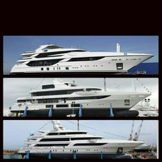 Benetti launched 3 new yachts in Q1 of 2015   From top: VICA (hybrid yacht), Surpina, FB264   More information: yachtemoceans.com/vsf   #yacht #superyacht #megayacht #motoryacht