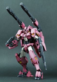 Painted Build: HG Gundam Flauros [Ryusei-Go] Gundam Flauros, Gundam Toys, Gundam Wing, Gundam Iron Blooded Orphans, Strike Gundam, Metal Robot, Gundam Mobile Suit, Facebook Features, Custom Paint Jobs