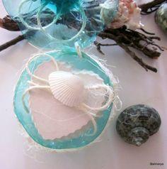 Set Two chalks hearts scented sea breeze shells in di Stelmarya, €15.00