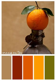Autumn Palette. It's not about matching. It's all about coordinating!