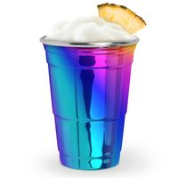 It may have taken a few years of partying to realize this, but your spirit animal is a unicorn. and it's time to start drinking like one! Our fancy pants Rainbow Party Cup is an oh-so-magical twist Unicorn Birthday, Unicorn Party, Rainbow Birthday, 10th Birthday, Diy Birthday, Rainbow Parties, Pool Parties, Backyard Bar, Your Spirit Animal