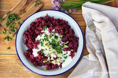 Cviklové halušky Gnocchi, Quiche, Ale, Cabbage, Vegetables, Ethnic Recipes, Food, Ale Beer, Essen