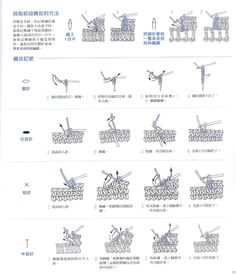 lo spazio di lilla: Uncinetto: i simboli degli schemi giapponesi / Japanese Crochet symbols