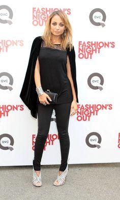 Nicole Richie's Black Closet!