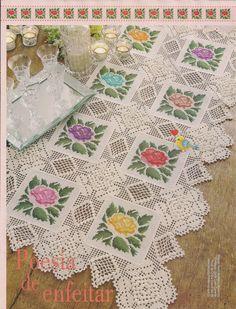 Gallery.ru / Фото #4 - Ponto cruz & crochê Nº46 - Chispitas