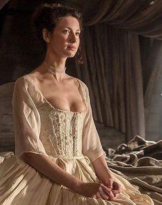 Claire Fraser on her wedding night - Outlander