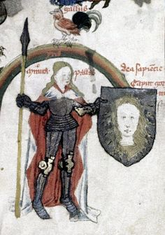 Minerva 1420 - 1450 - England Historical and other miscellaneous texts. Walter Map, poems. Prologue to Ovid, Metamorphoses. Exact dating unknown (mid 15th century) (ATHENAIA - Arms & Armour Database)